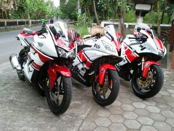 Blog Modifikasi Motor Modifikasi Yamaha Vixion Ala M