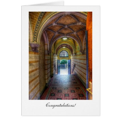 Vaulted Entrance - General Congratulations Greeting Cards