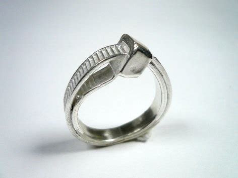 Nut and bolt wedding rings and uber ring round up   Make