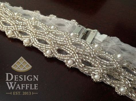 DIY beaded bridal belt with clasp   Party Ideas   Wedding