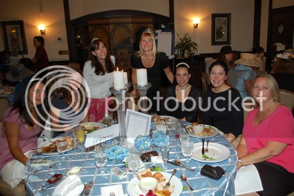 The Royal Wedding at The Smoke Rise Inn - Table 4