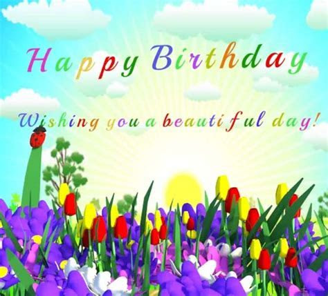 Have A Happy Beautiful Day. Free Happy Birthday eCards
