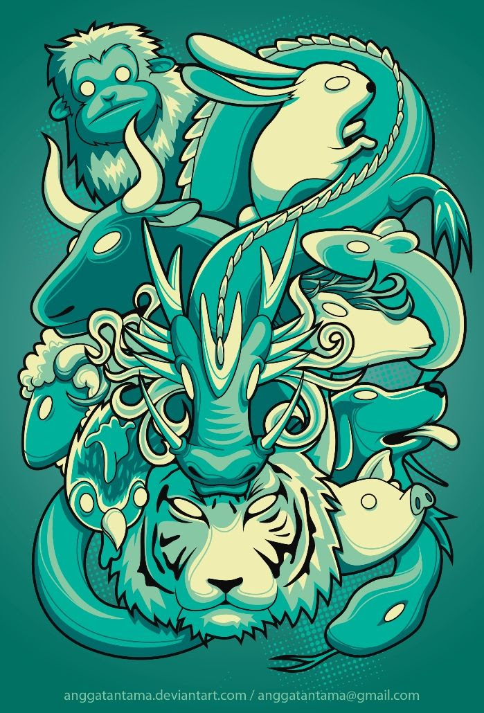 Chinese Zodiac by *anggatantama on deviantART