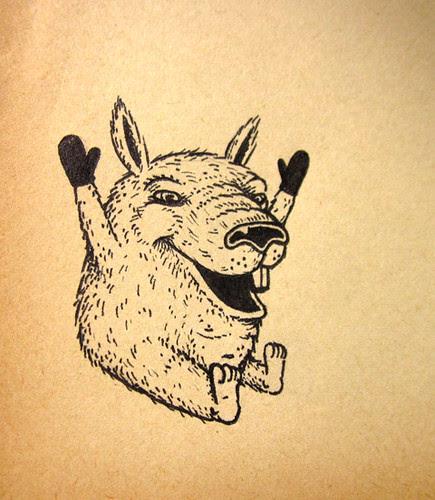 micron pen drawing
