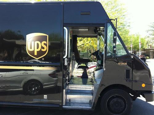 UPS con las puertas siempre abiertas