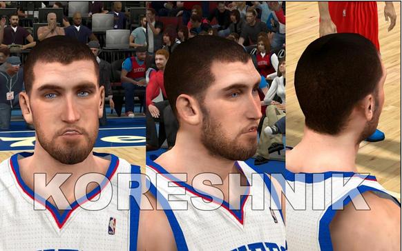 NBA 2K12 76ers Cyberface Pack V2 - Enhanced Tattoos Download