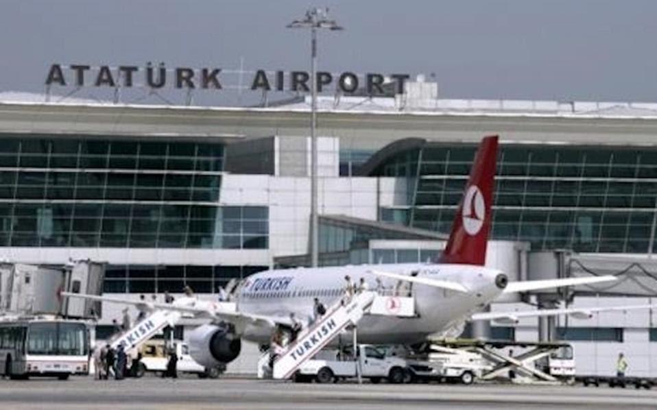 Αποτέλεσμα εικόνας για αεροδρόμιο Κων/πολης