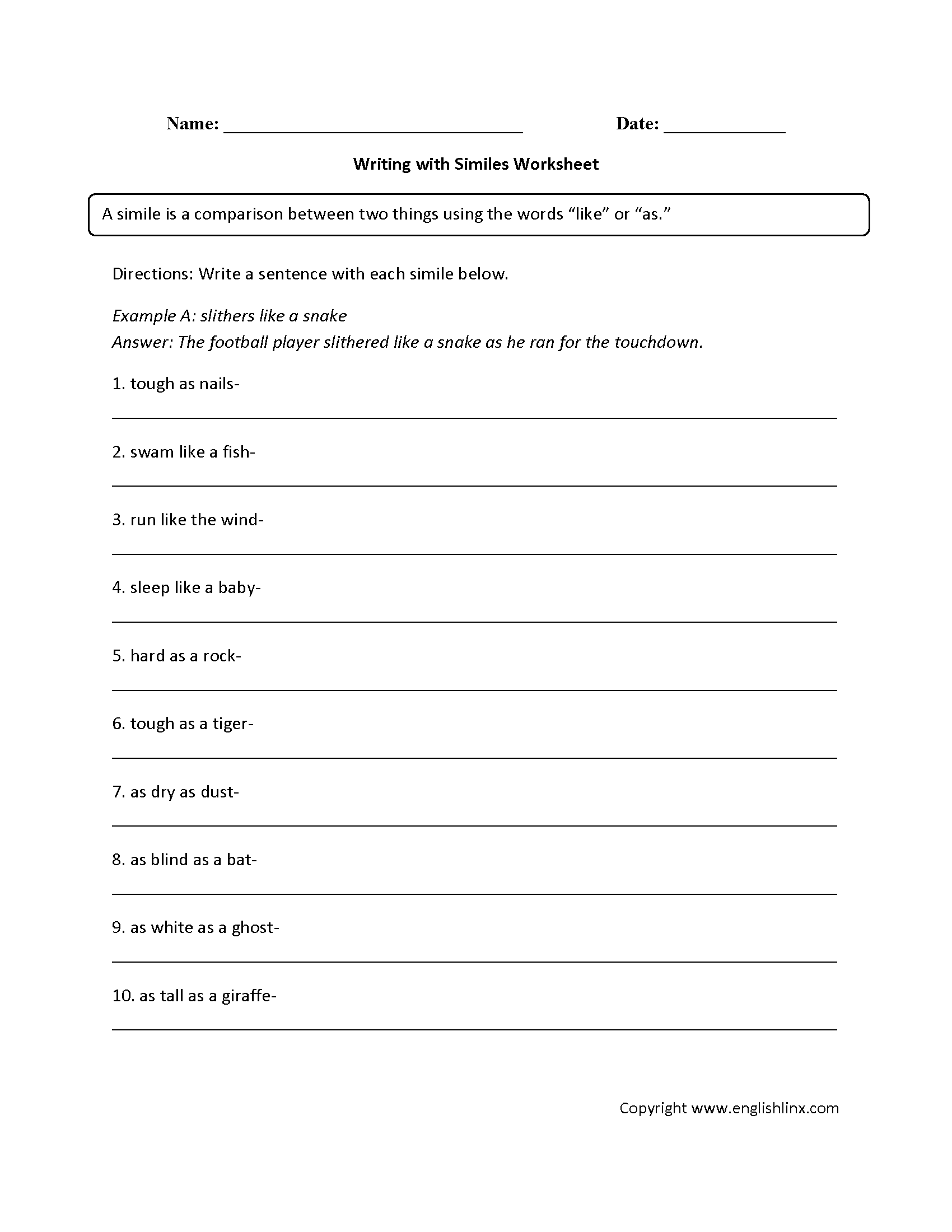 Similes Worksheet 4th Grade Promotiontablecovers Metaphor/simile sorts and practice #distancelearningtpt. similes worksheet 4th grade