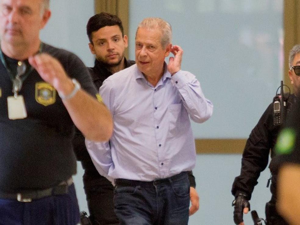 José Dirceu foi condenado em duas ações da Lava Jato (Foto: Paulo Lisboa/Brazil Photo Press/Estadão Conteúdo)