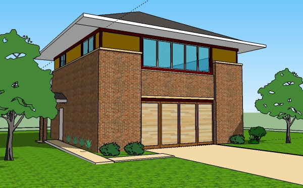 Single Floor 1 Story House Plans 3 Bedroom Home Designs Front Elevations