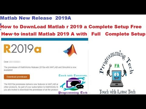 How To Download And Install Matlab Latest 2019A Full With Activation