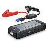 Anker コンパクトジャンプスターター ポータブル充電器 モバイルバッテリー搭載 最大400A 保護機能搭載の安心設計 LEDフラッシュライト内蔵