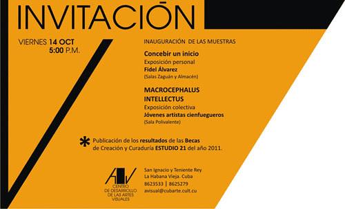 Invitacion CDAV