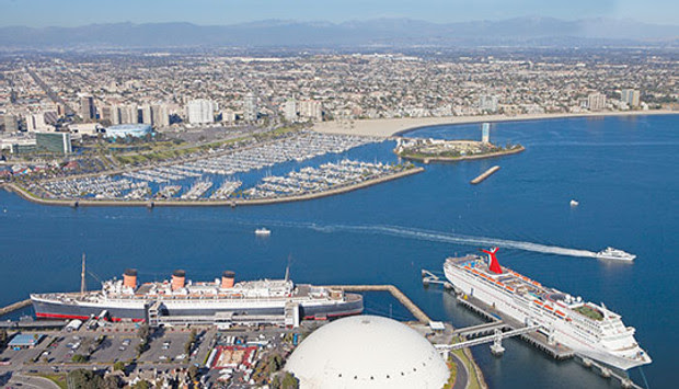 Image result for Long Beach cruise port