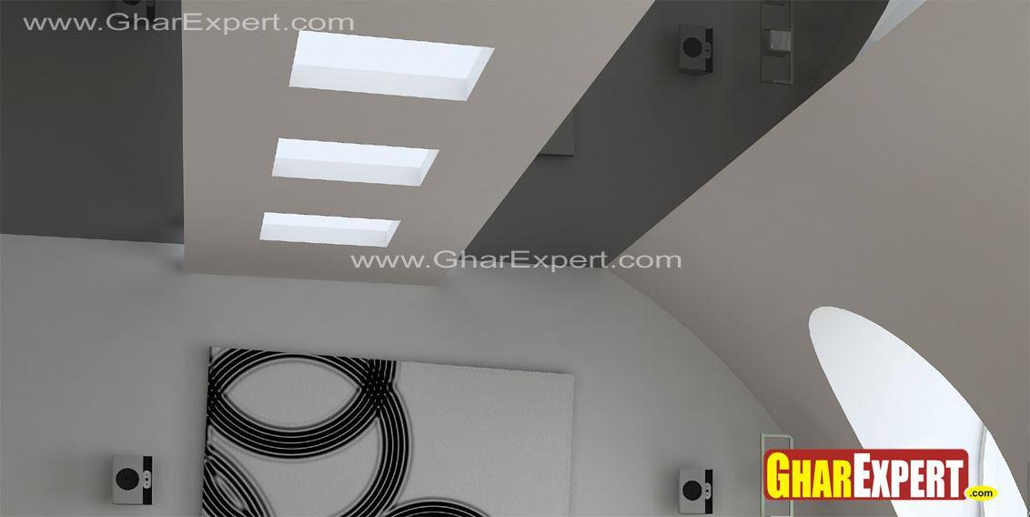 Best Glass False Ceiling Design Photos