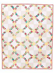 Metro Hoops Quilt Pattern - Electronic Download