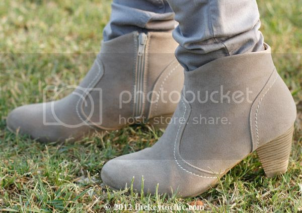 western ankle boots, Wet Seal booties