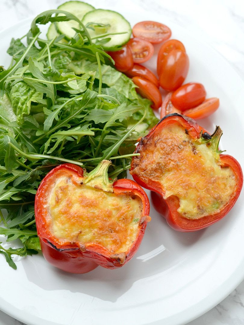 Syn Free Red Pepper Quiche (Slimming World Friendly Recipe)