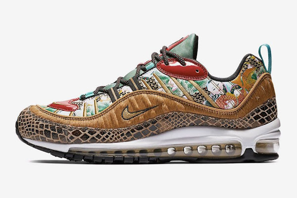 """the best attitude fcf3e 336f0 Take a Closer Look at Nike's Chinese New Year Air Max 98 """"Year of the Pig"""""""