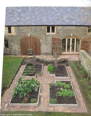 brick++Raised+Vegetable+Beds | brick Raised Vegetable Beds | ... | Ga…