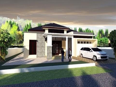ketahui desain rumah ukuran 10x17 meter, video desain