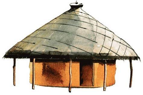 Tswana hut by Matthews Bantsijang   Tswana Hut   Ntlo ya