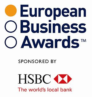 English: European Business Awards logo