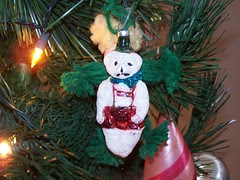 teddy ornament