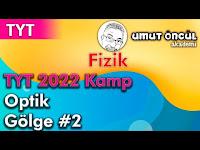 Fizik   TYT   TYT 2022 Kamp   Optik   Gölge #2 - Umut Öncül Akademi