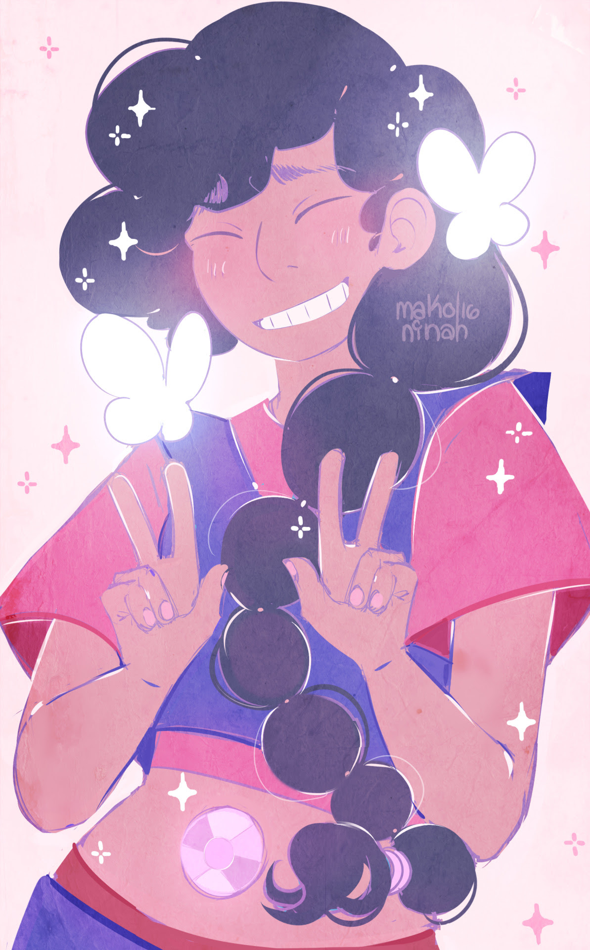 ✧ Pure smile from the baby ! ! ✧