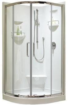 B timent brique installation porte de douche neptune - Installer une porte de douche ...