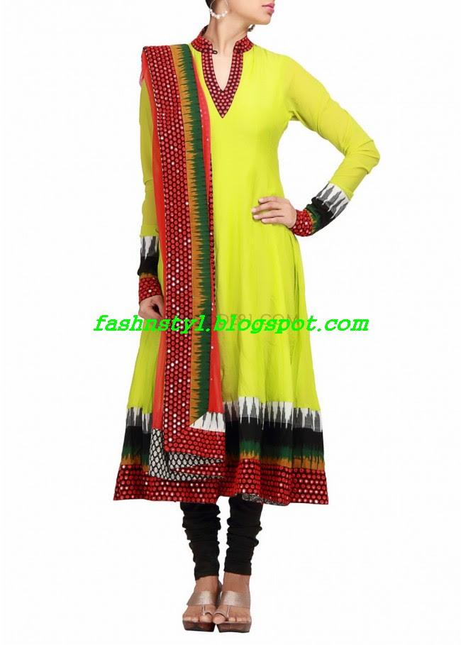 Anarkali-Fancy-Embroidered-Churidar-Frock-New-Fashion-For-Girls-by-Designer-Kalki-3
