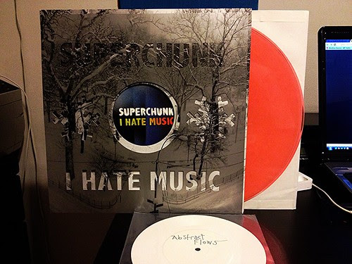 "Superchunk - I Hate Music LP - Orange Vinyl w/ Bonus 7"" by Tim PopKid"