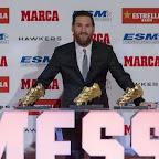 ab005d89f8610 Messi má piatu Zlatú kopačku
