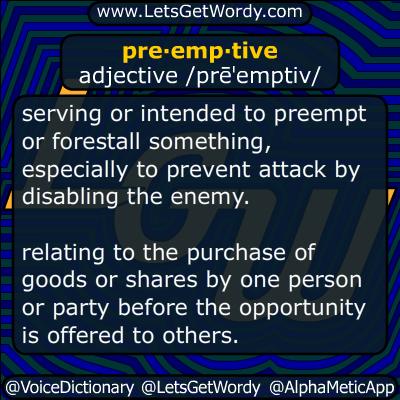 preemptive 04/13/2017 GFX Definition