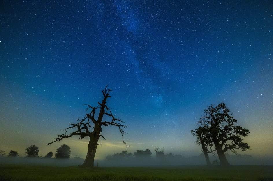 La Vía Láctea, vista desde Polonia