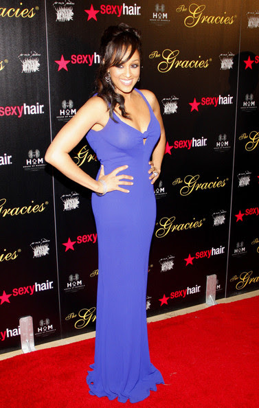 Tia Mowry attending the 37th Annual Gracie Awards Gala held at the Beverly Hilton Hotel in Los Angeles.
