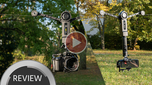 Wiral LITE Portable Cable Cam - Final Production Model Tested with Various Cameras