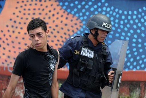 Honduras - protestas