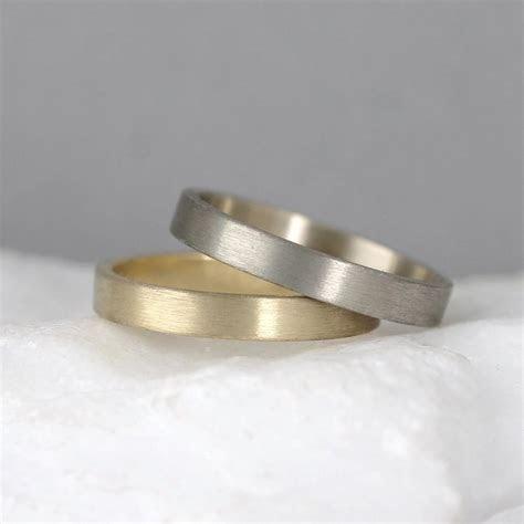 3mm 14K Gold Wedding Band ? Men?s Or Ladies Wedding Rings