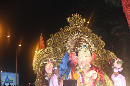 Lalbagh Chya Raja At Claire Road Byculla by firoze shakir photographerno1