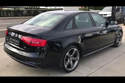Audi A4 2014 Black Edition Review