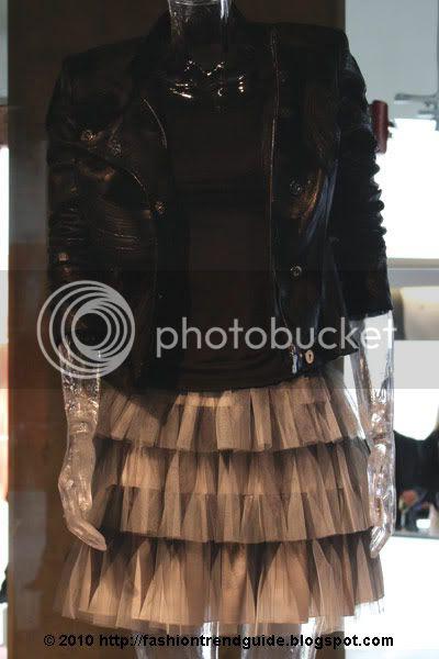 tiered Devon skirt