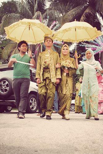 Khaidir & Amira Wedding by Yusaini Photojiwa