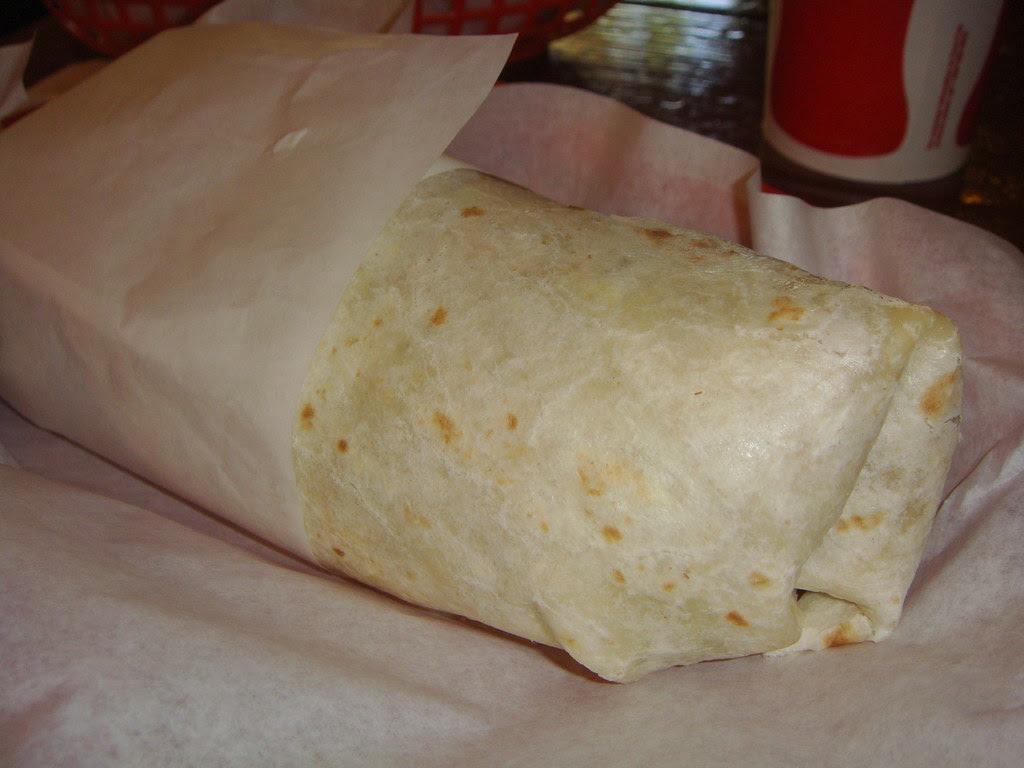 Super Vegetarian Burrito