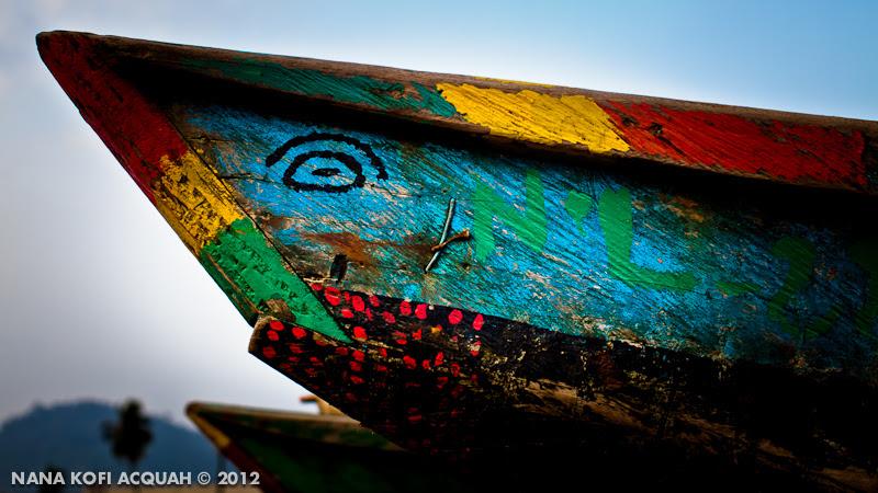 Docked Canoe, Limbe, Cameroon