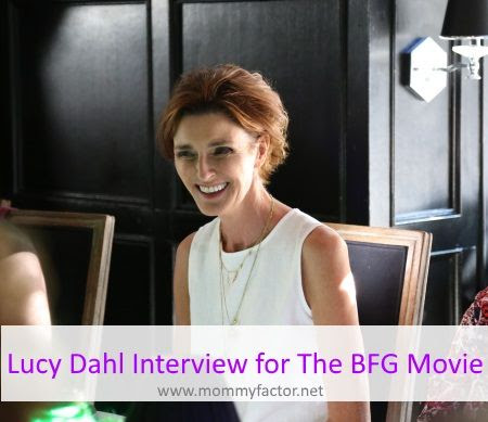 Lucy Dahl Interview for The BFG Bluray Release