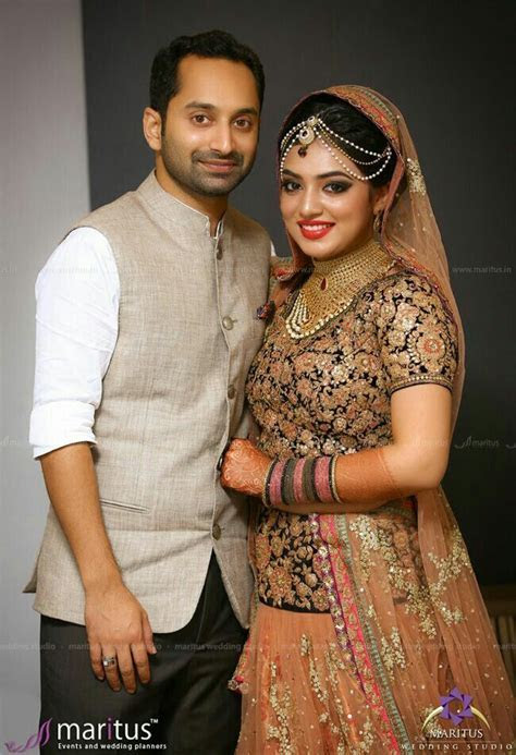 Nazriya fahad   Indian wedding & Jewellery   Christian
