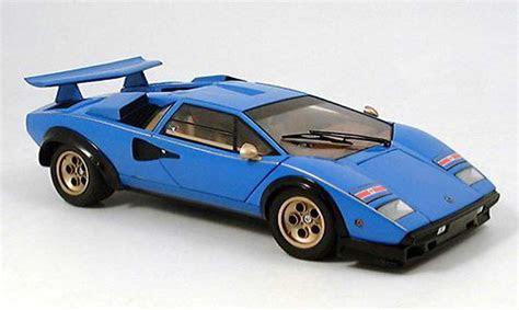 Lamborghini Countach LP 500 s blau Kyosho modellauto 1/18   Kaufen/Verkauf modellauto   Online