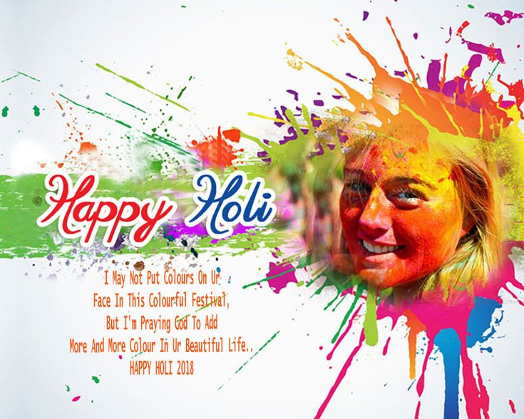 Happy Holi 2018 Pics With Wallpaper Quote Images Hd Free